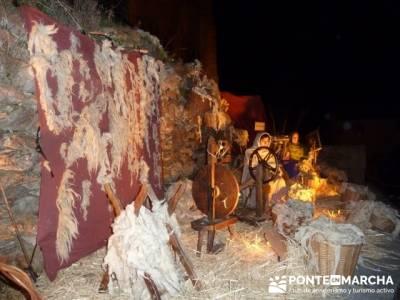 Senderismo Sierra Norte Madrid - Belén Viviente de Buitrago; senderos aragon